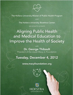 Aligning Public Health and Medical Education to Improve the Health of Society