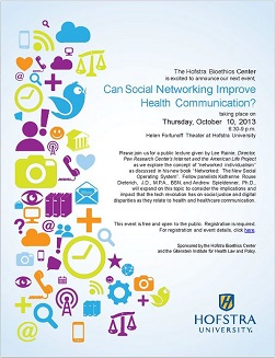 Can Social Networking Improve Health Communication?